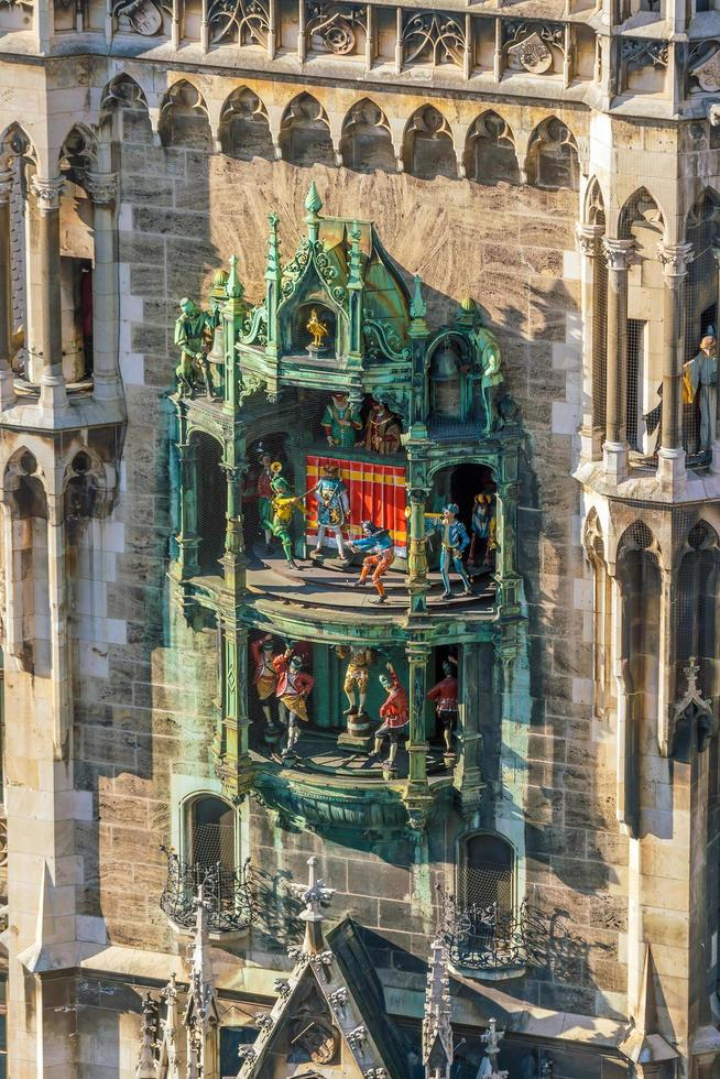 Marienplatz City Hall Tower Clock photo