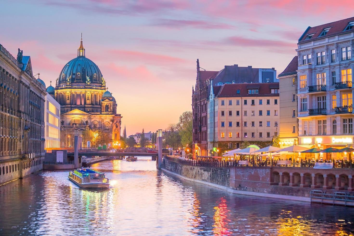 Berlin downtown skyline  photo