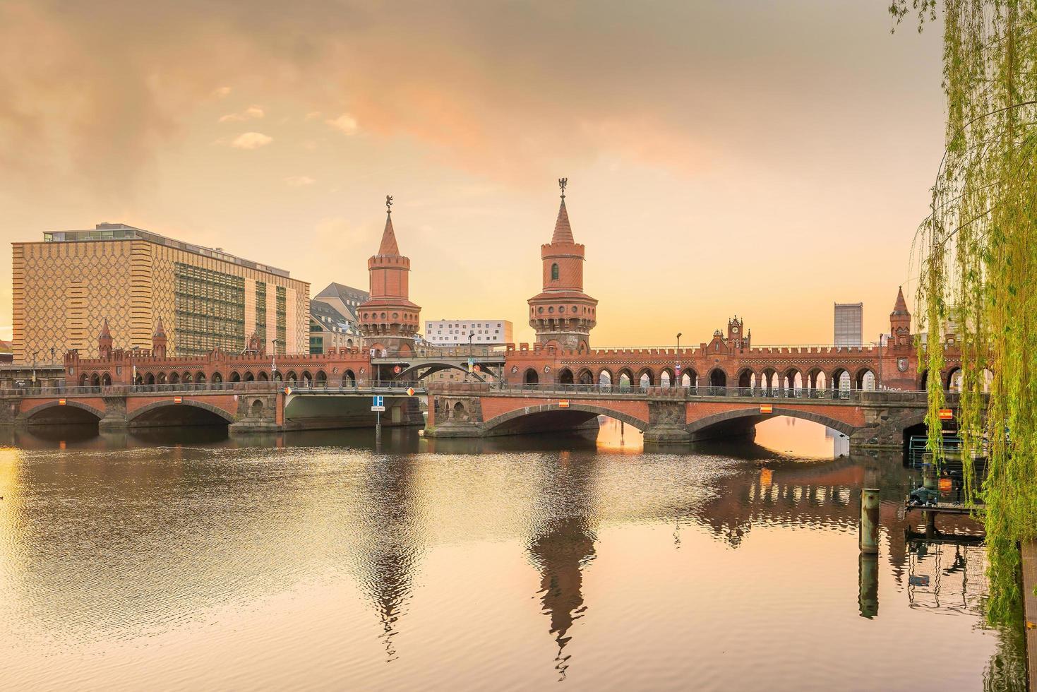 horizonte de berlín, alemania foto