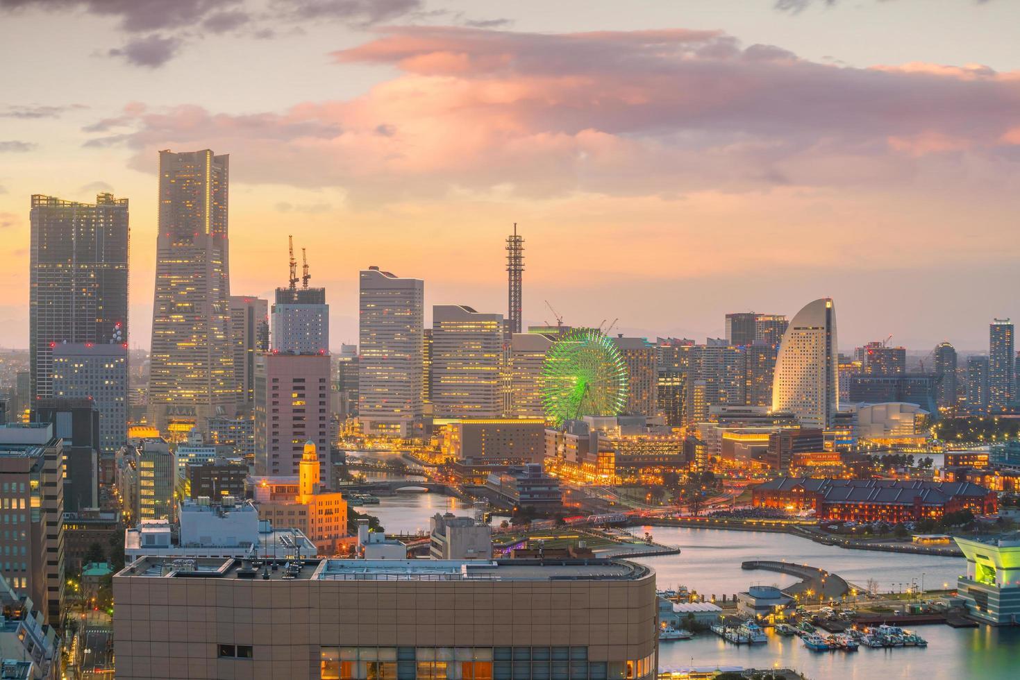 ciudad de yokohama, japón foto