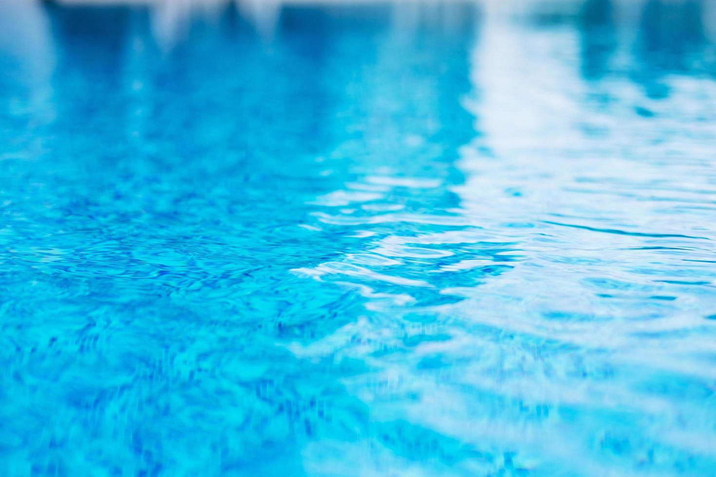 Close-up of the surface of a pool photo