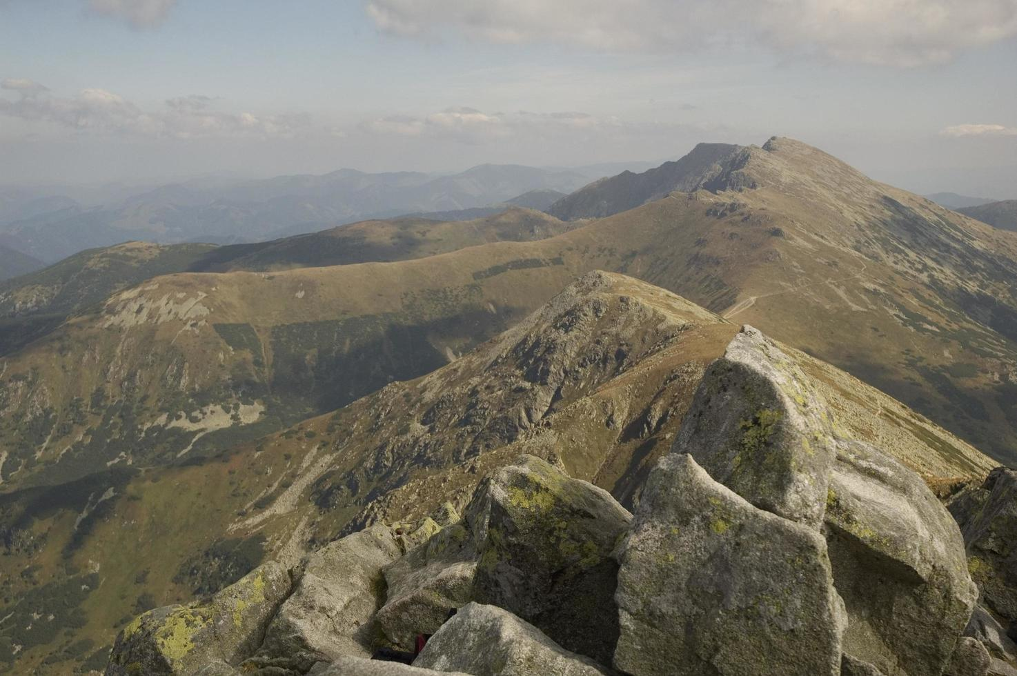 Slovakia mountain range  photo