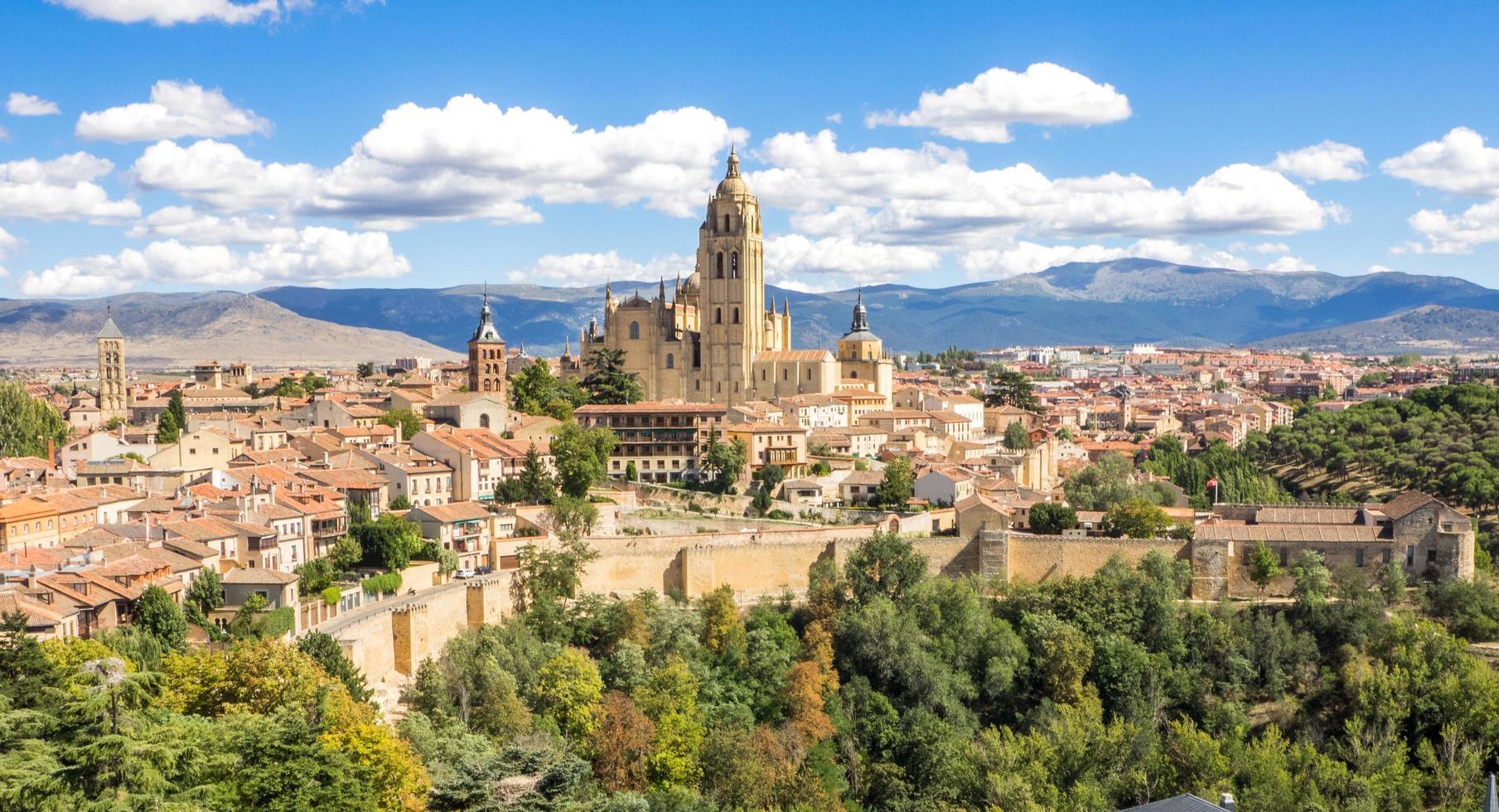Historical Spanish landscape  photo
