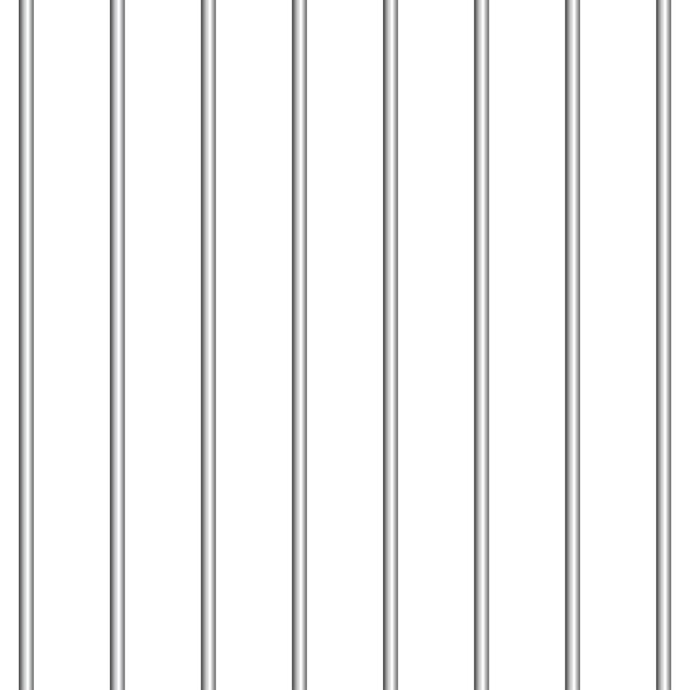 fundo padrão de barras de metal vetor