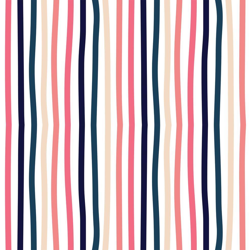 padrão de fundo colorido sem costura vetor