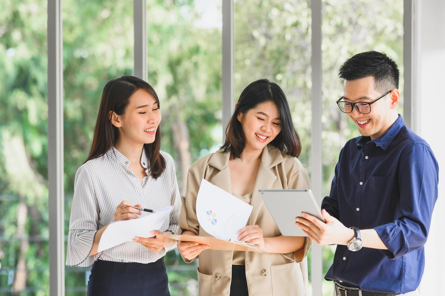 Asian business team  photo