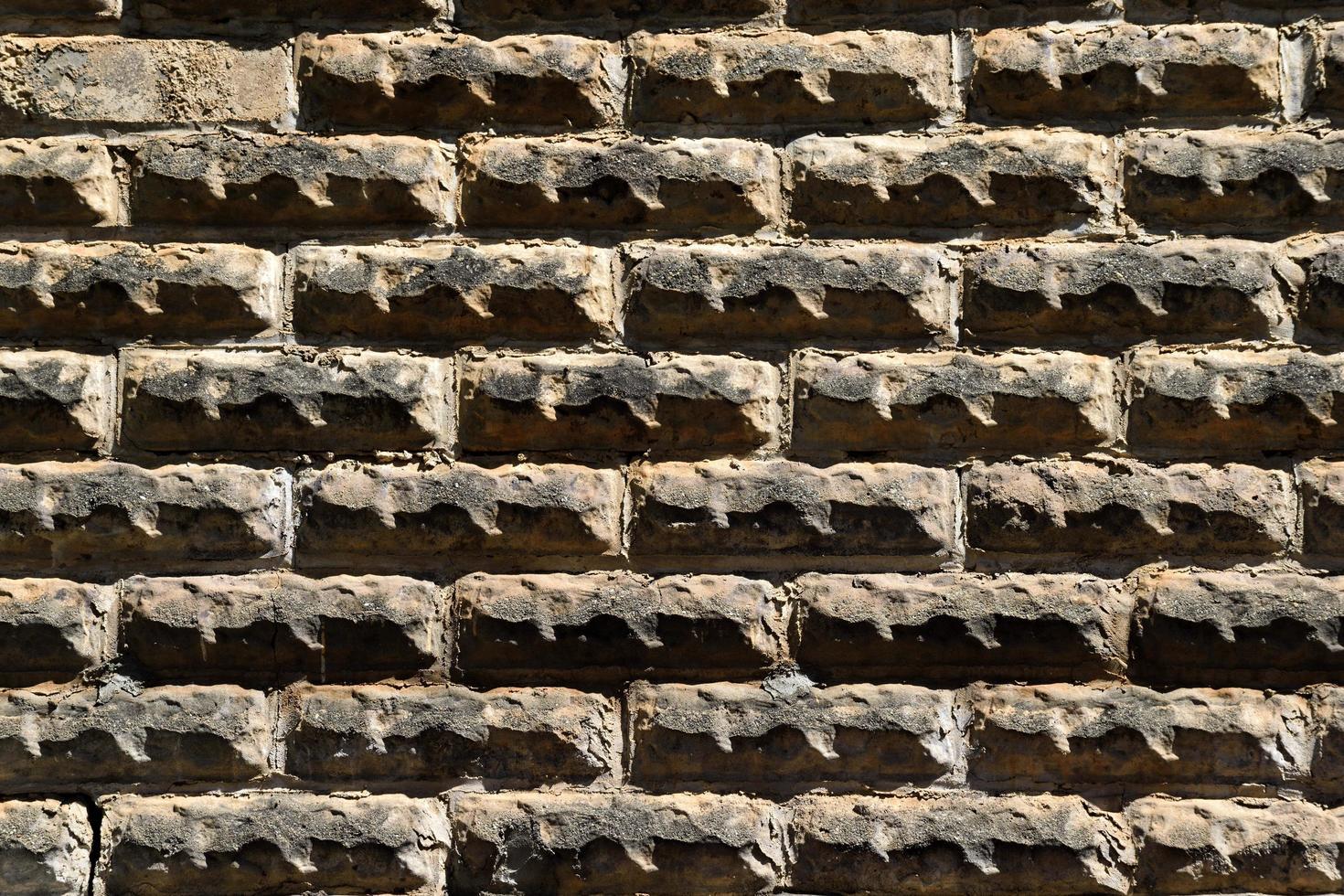 Stone wall pattern photo