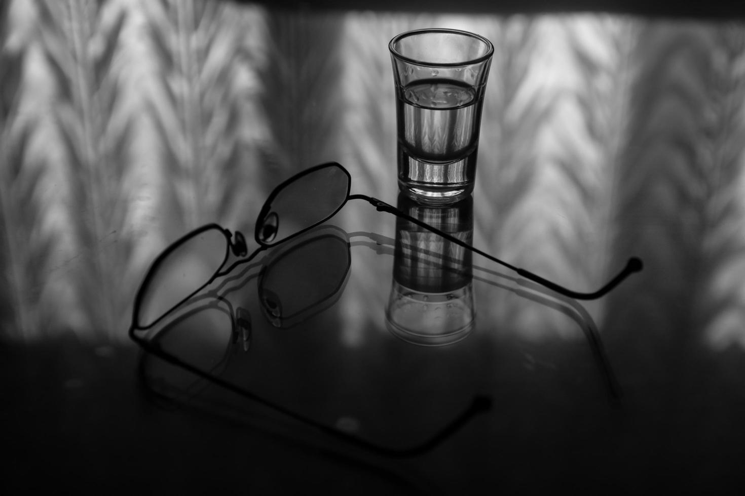 reflexo de óculos foto
