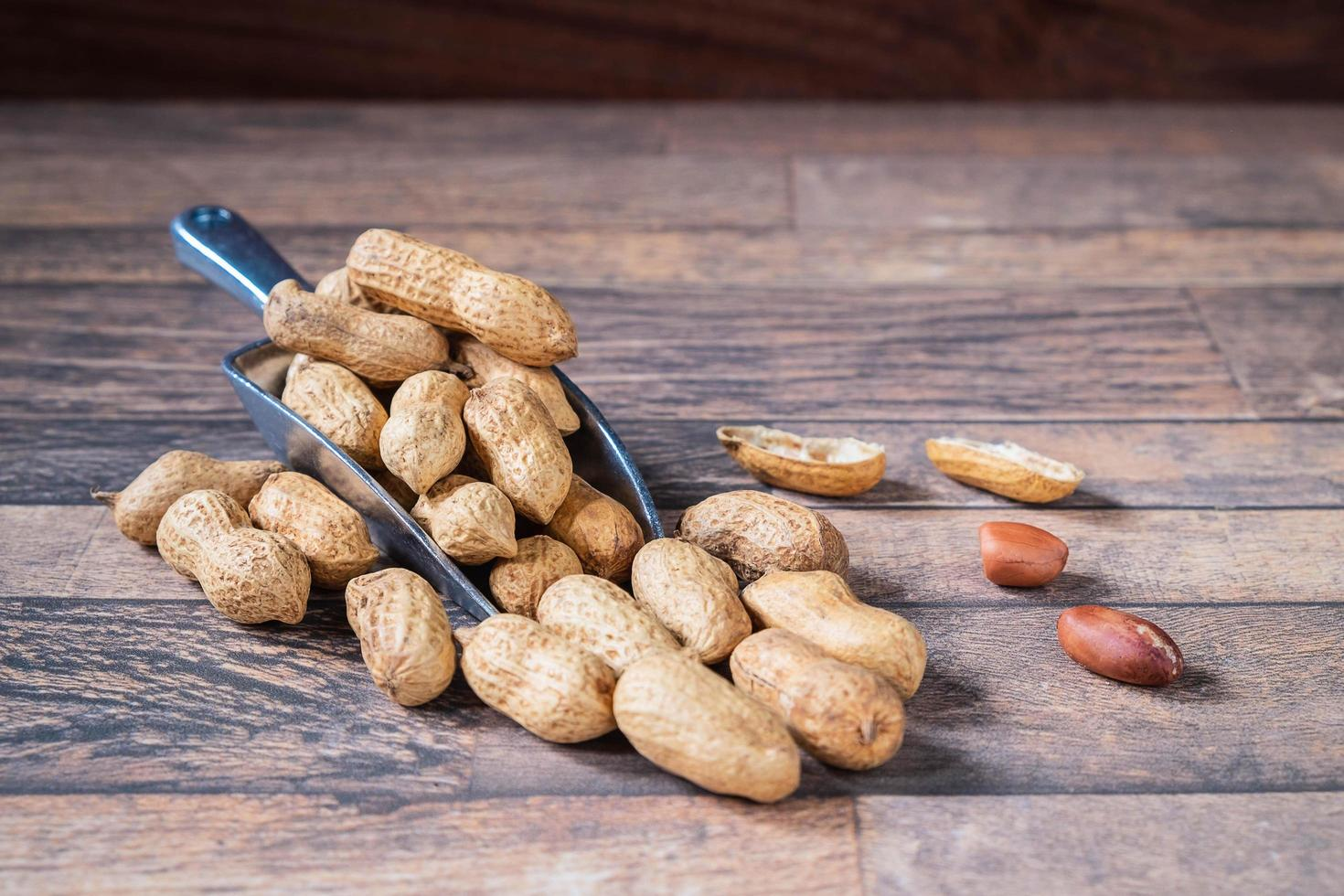 Peanuts in shell  photo