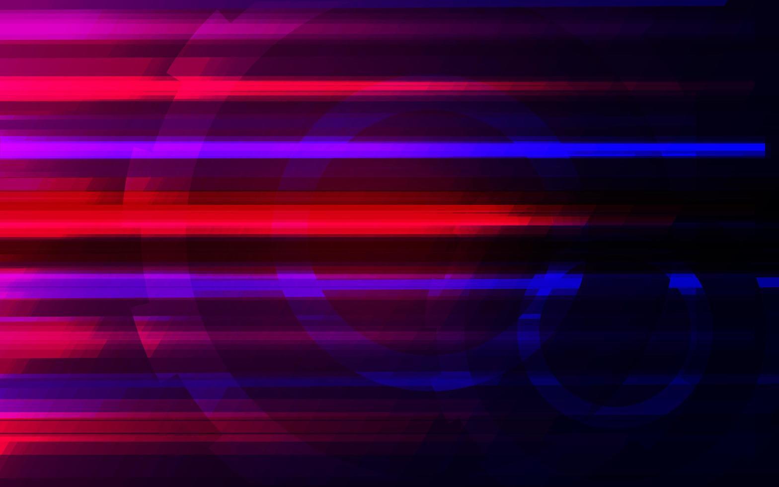 diseño futurista brillante colorido abstracto vector