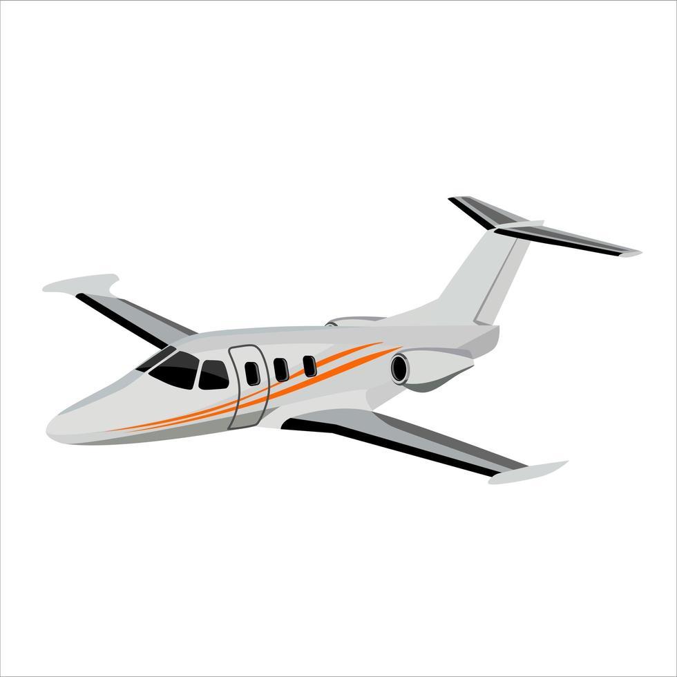 mini avion volador vector