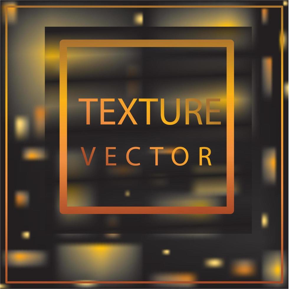 banner y marco de iluminación dorada vector