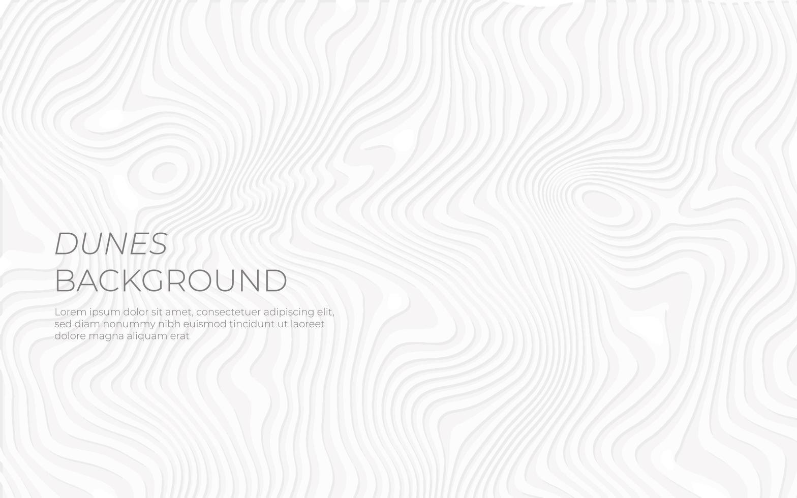design de efeito de papel de dunas brancas vetor
