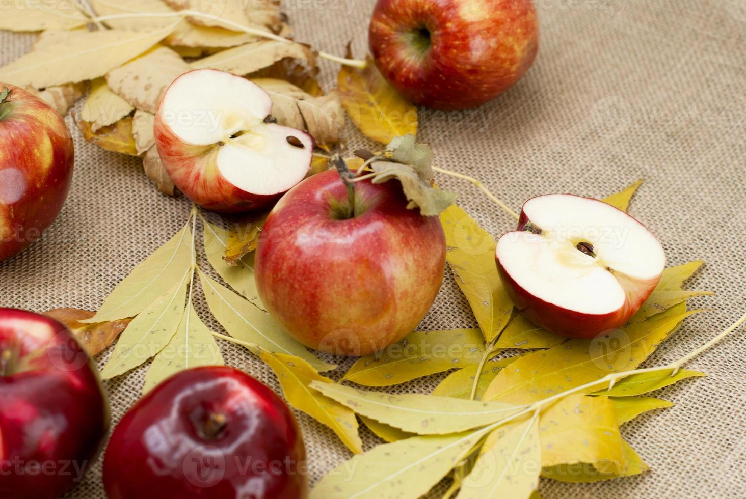 rode verse appels foto