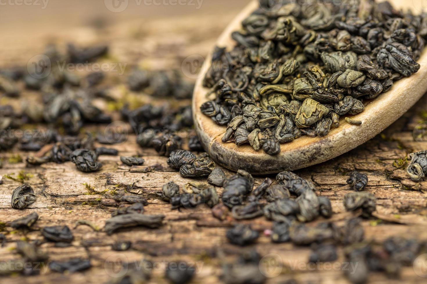 groene thee foto