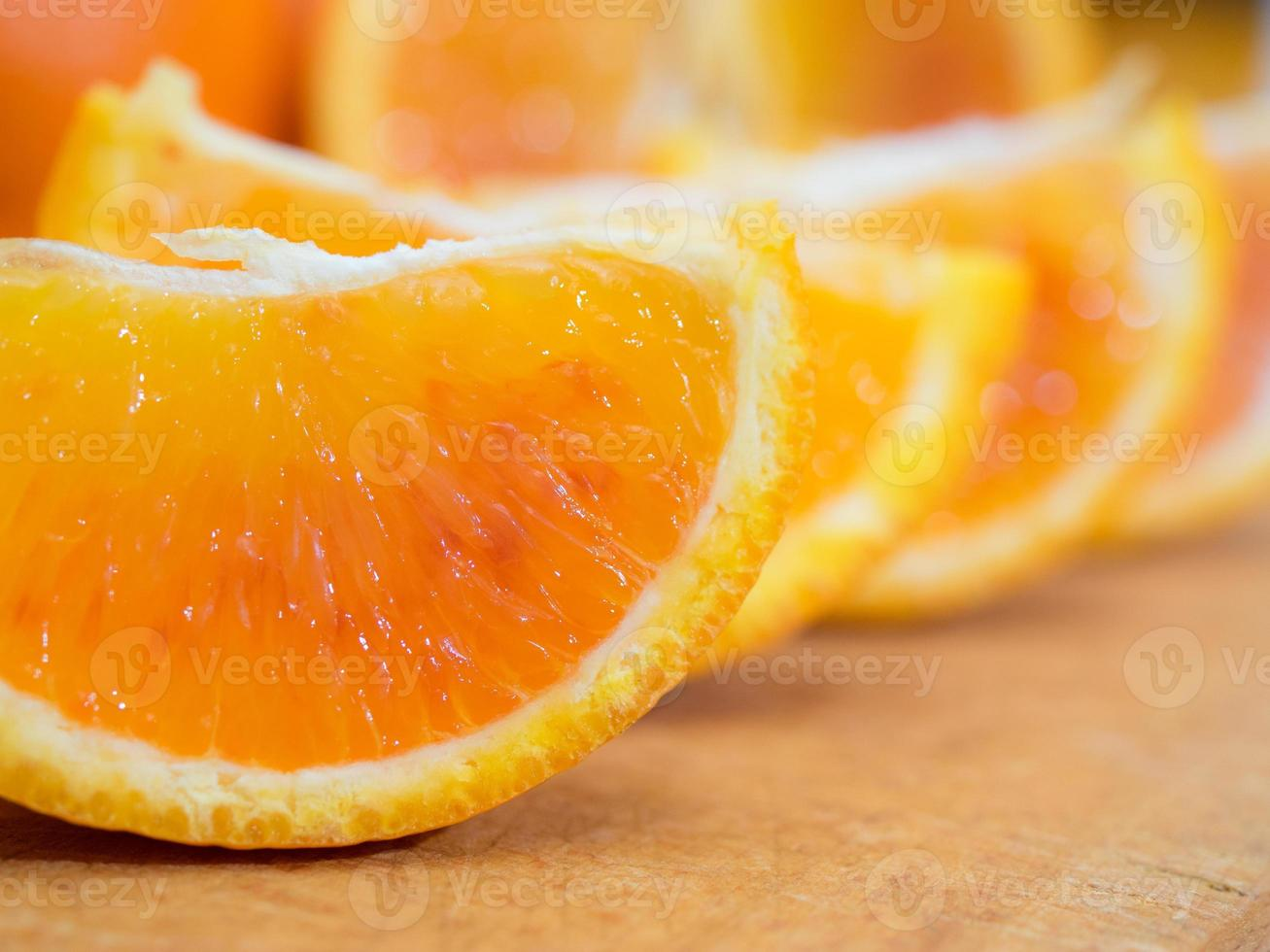 Orange slices photo