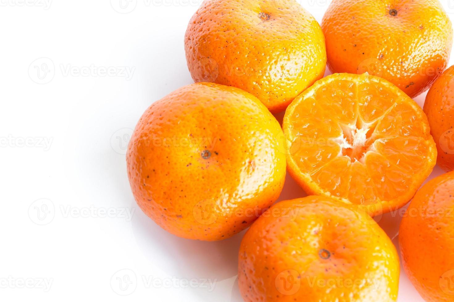 naranja aislado foto