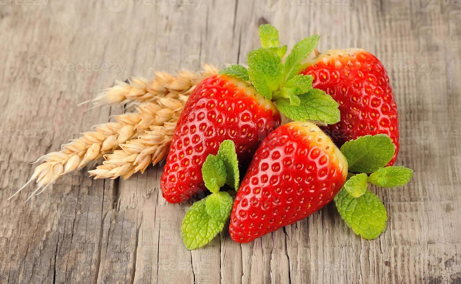 fresa dulce foto