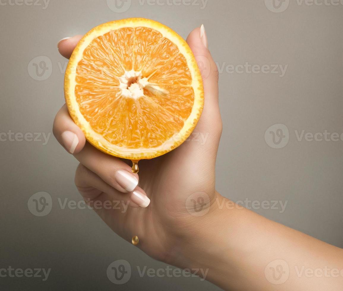 half an orange photo