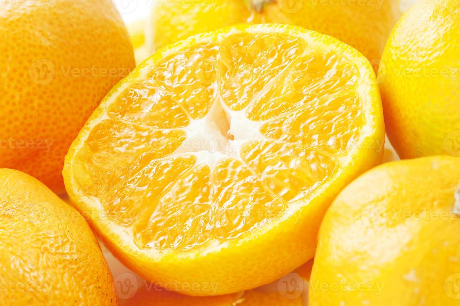 naranjas mandarinas foto