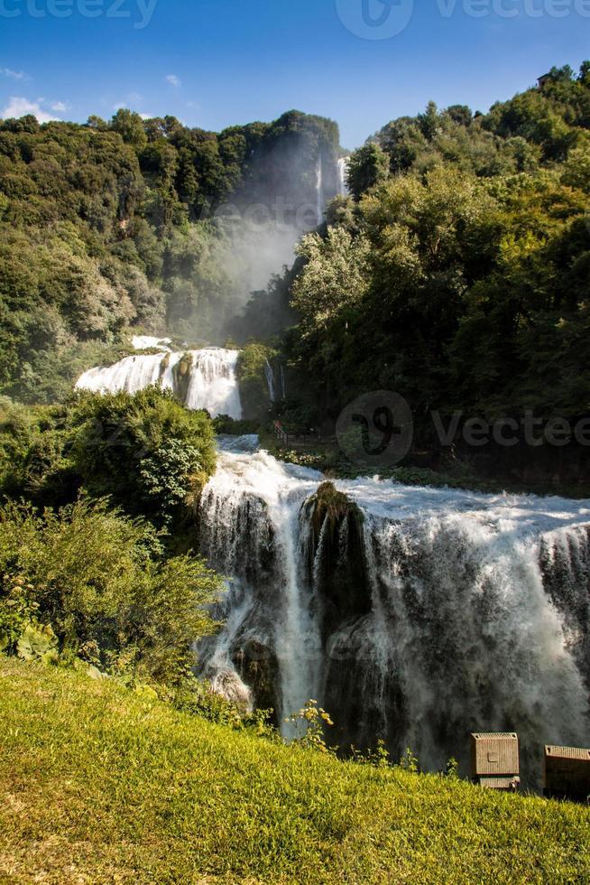 cascadas de marmore, italia foto