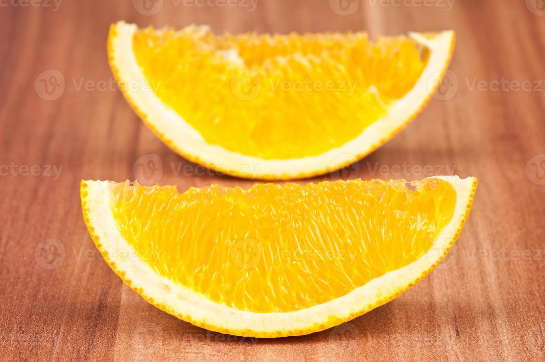 naranja en rodajas foto