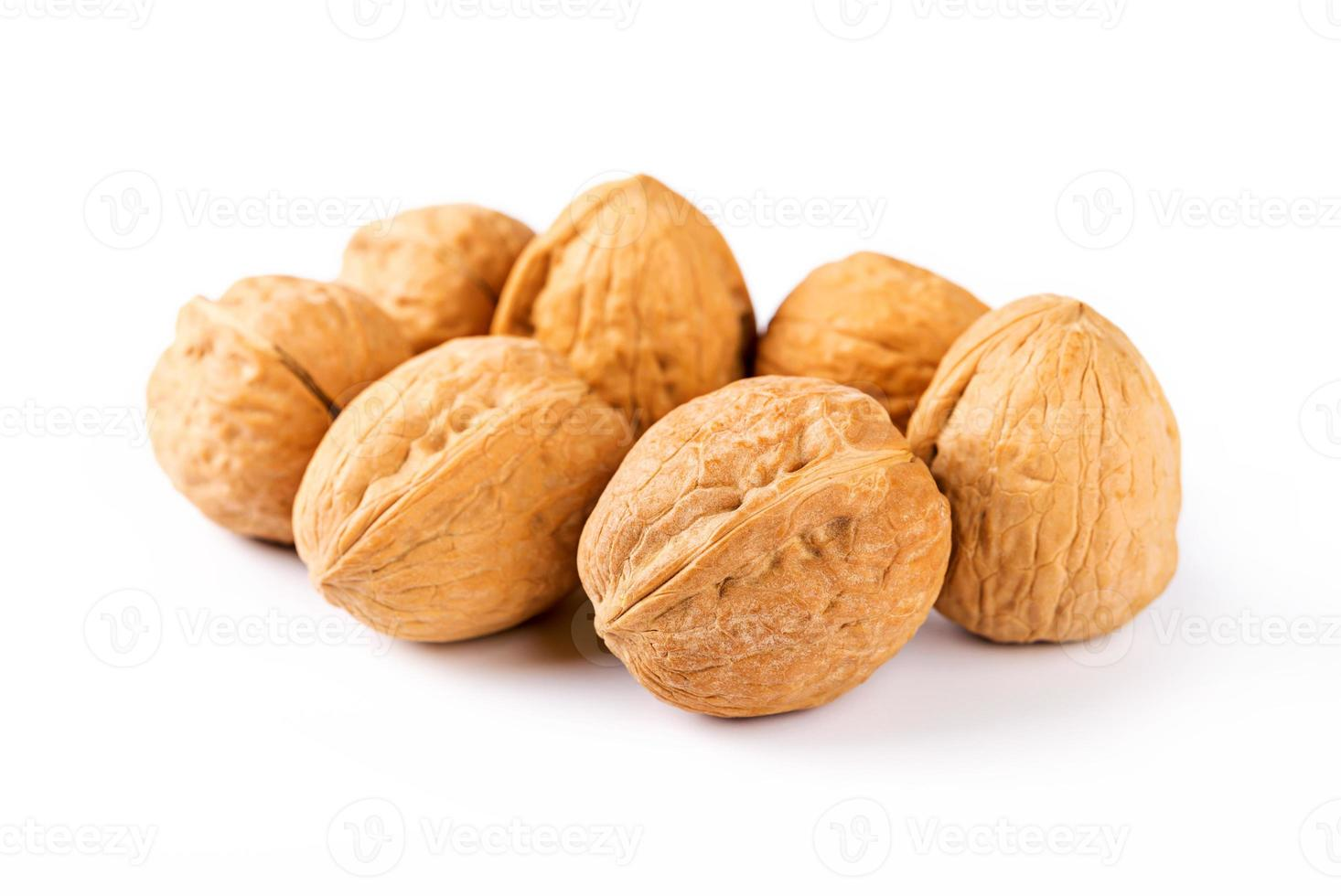 walnuts isolated photo