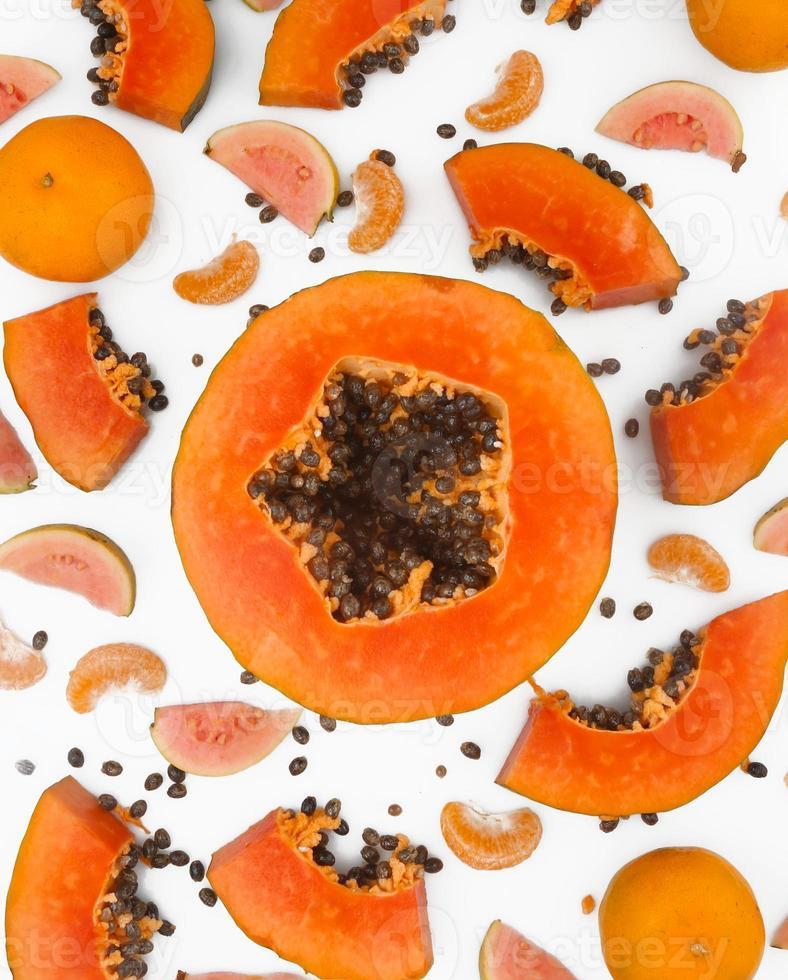 Fruit background photo