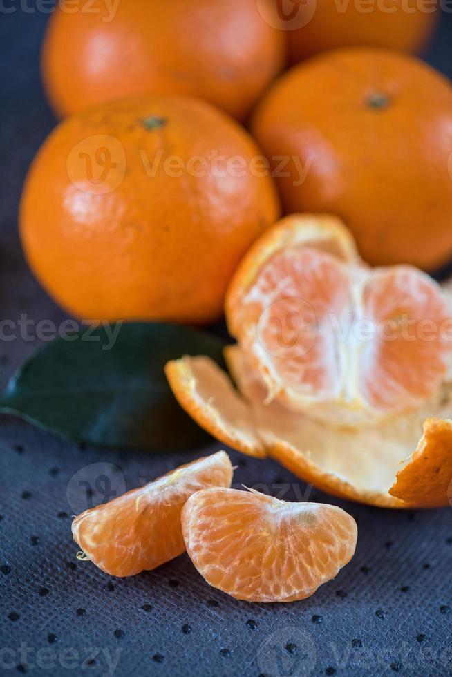 mandarinas foto