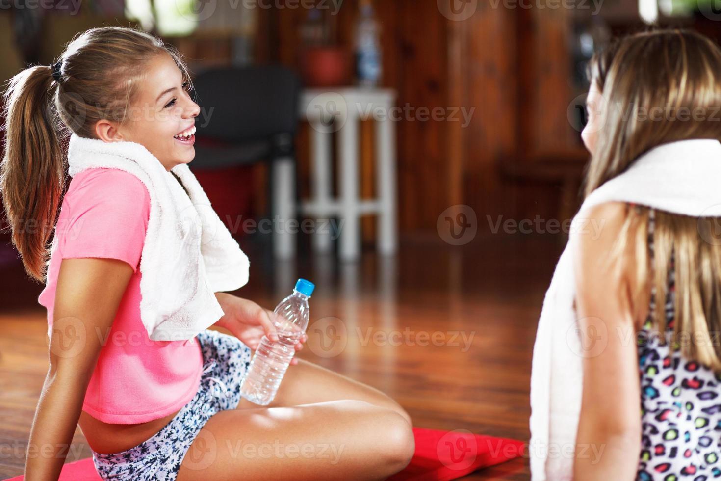 Sports teenage girls photo