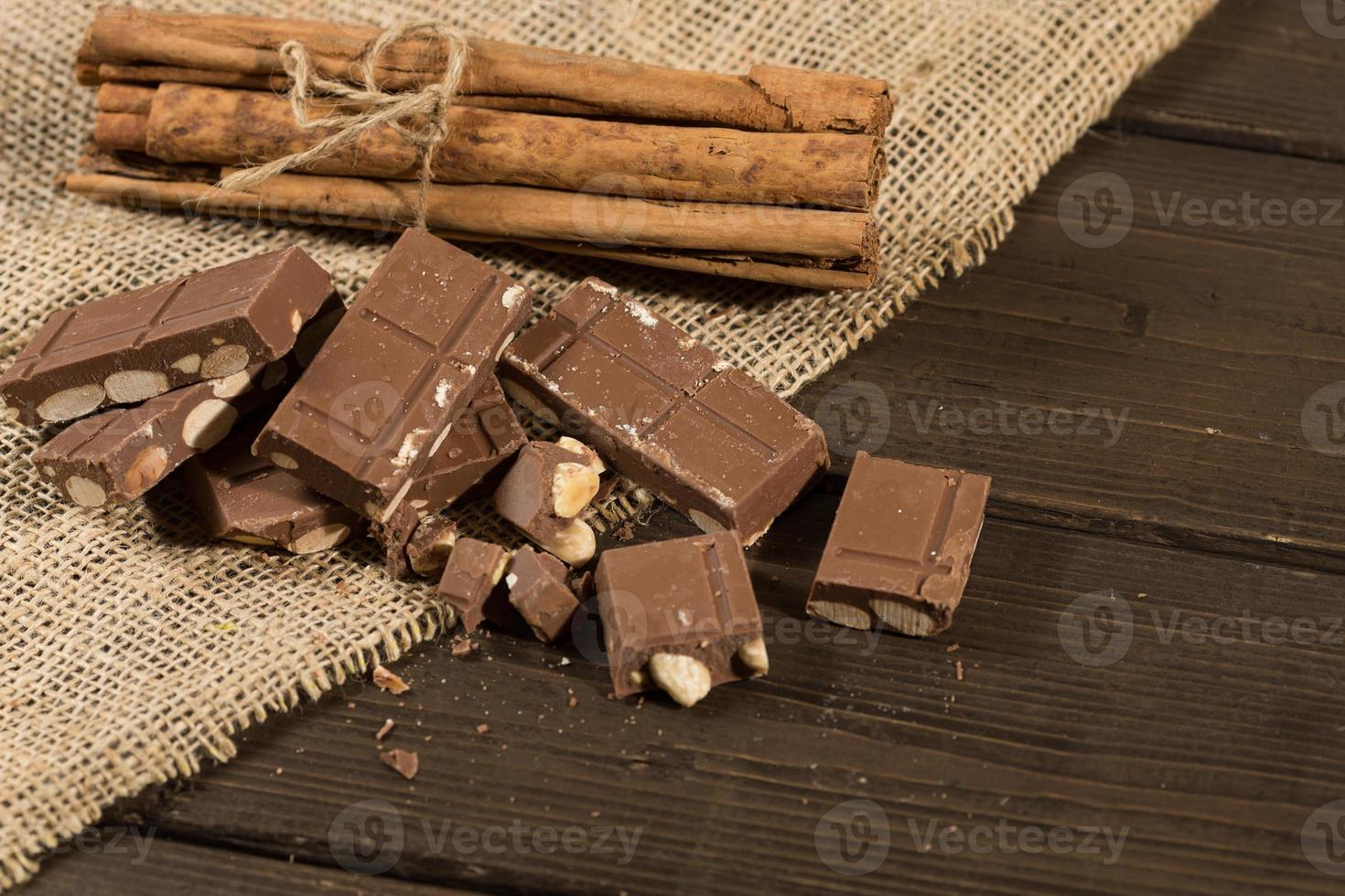 Chocolate with Almonds photo