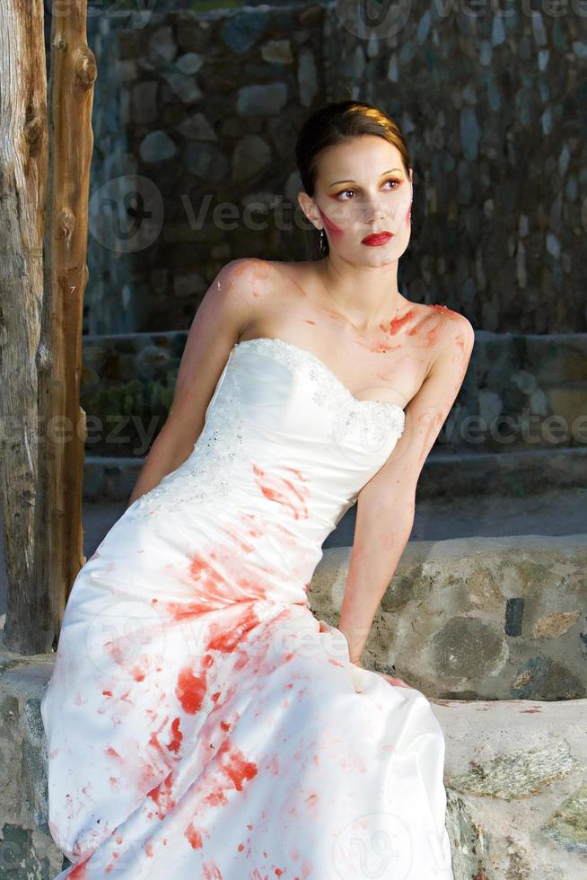 Red Paint Bride photo