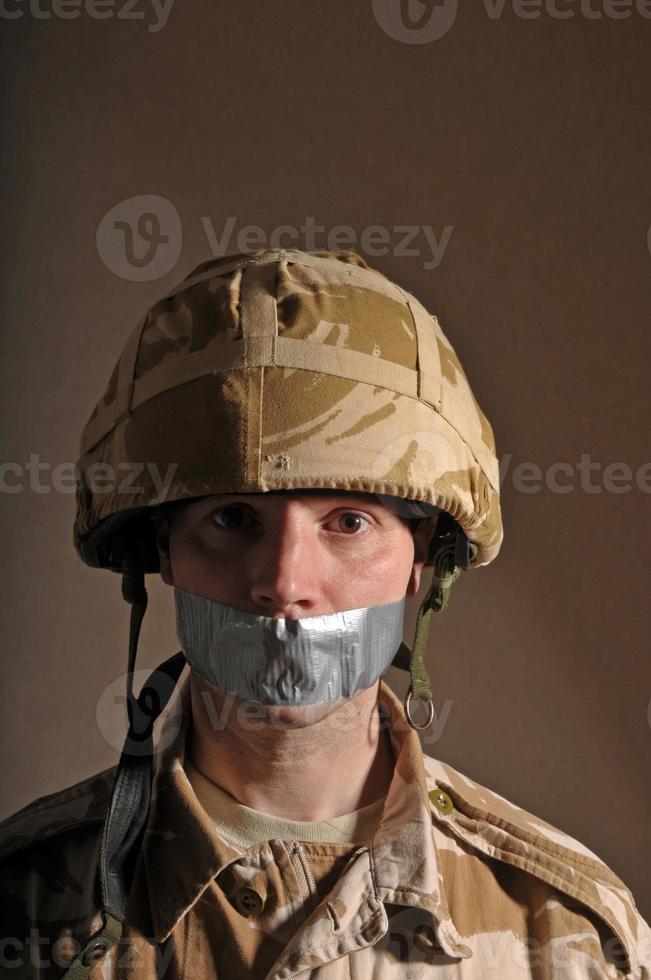 Speechless Soldier photo