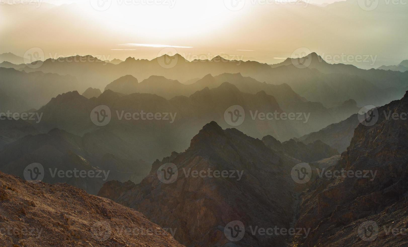 Sunrise over Red sea photo