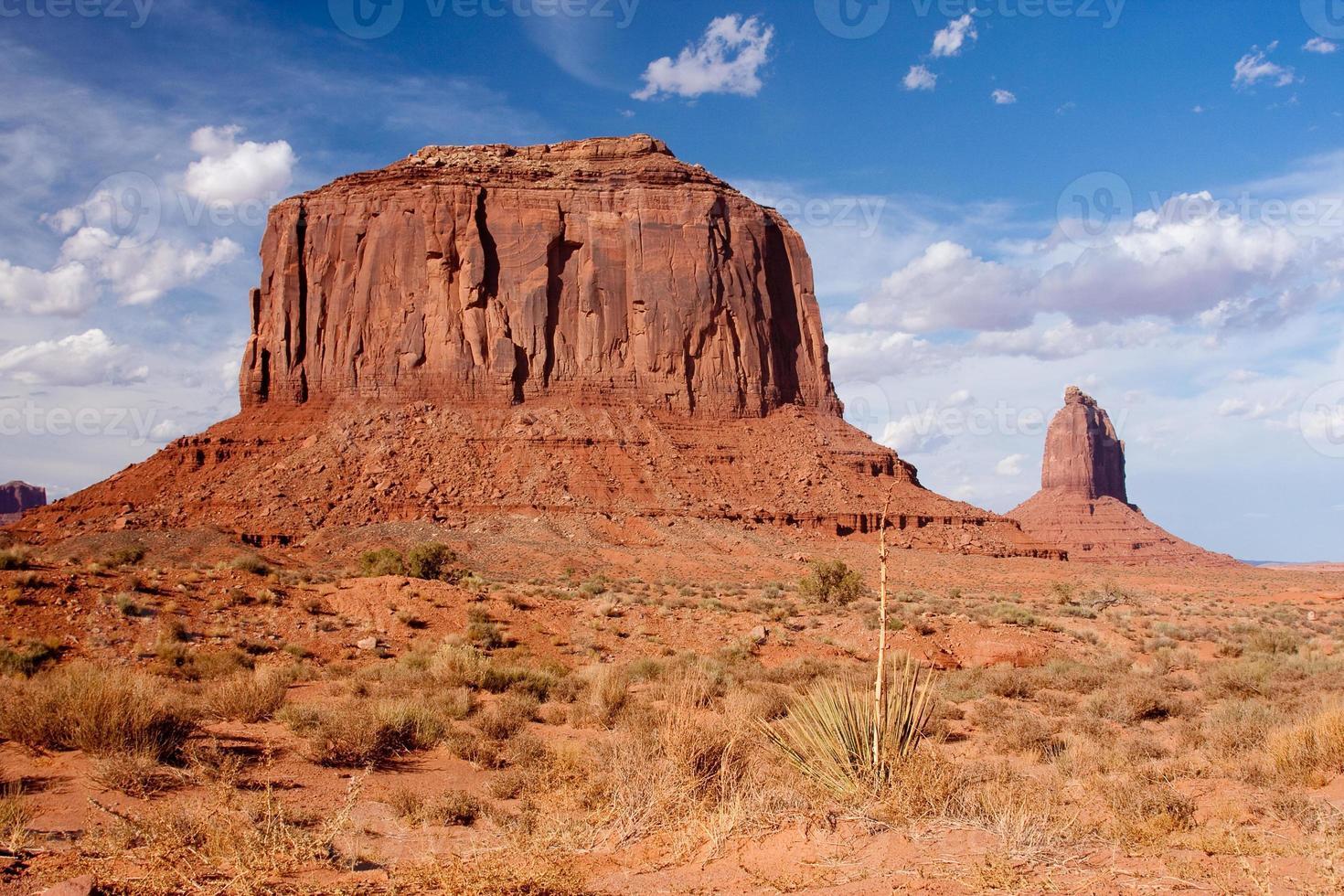 Merrick Butte en Monument Valley foto