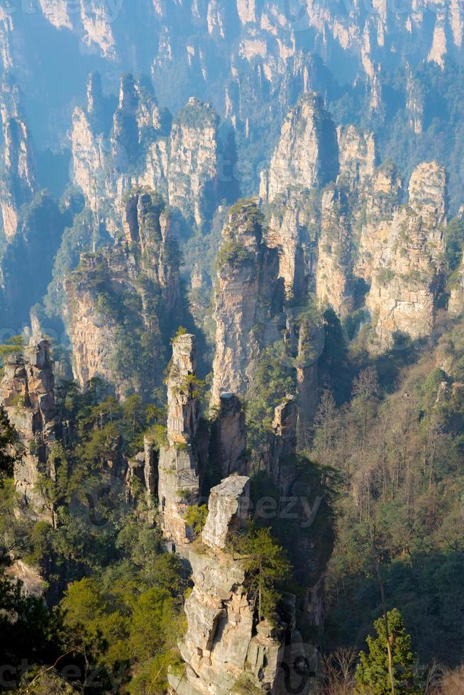 Zhangjiajie National forest park China photo