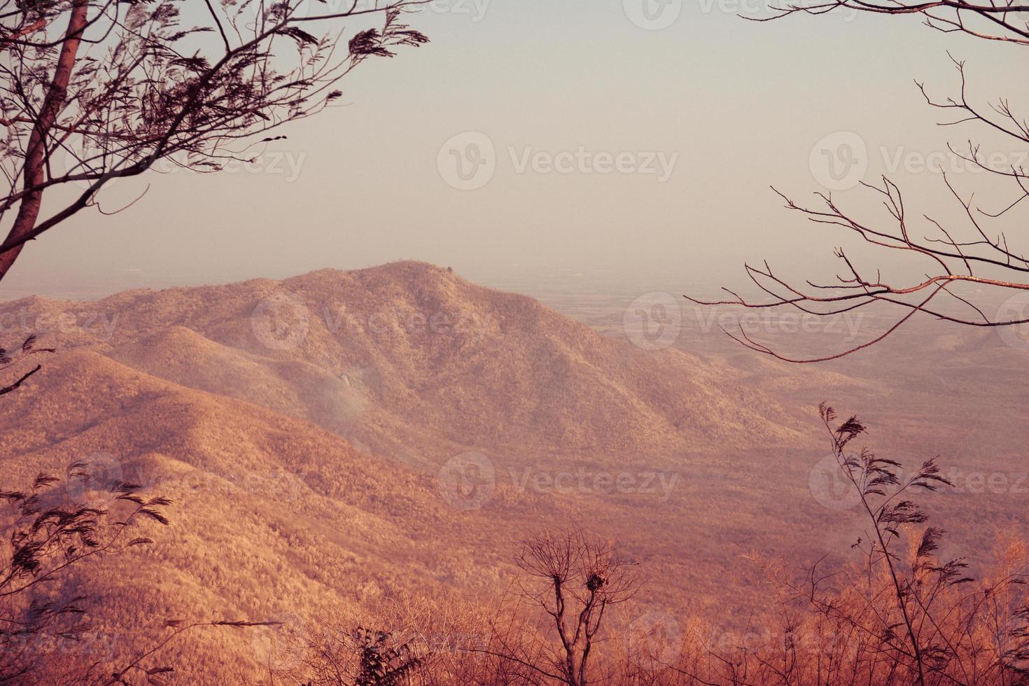 The Red Tone Mountain photo