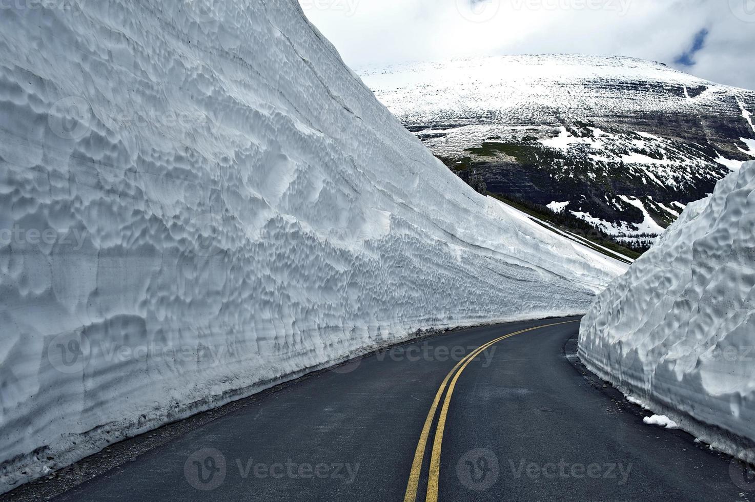 Road Thru Snow photo