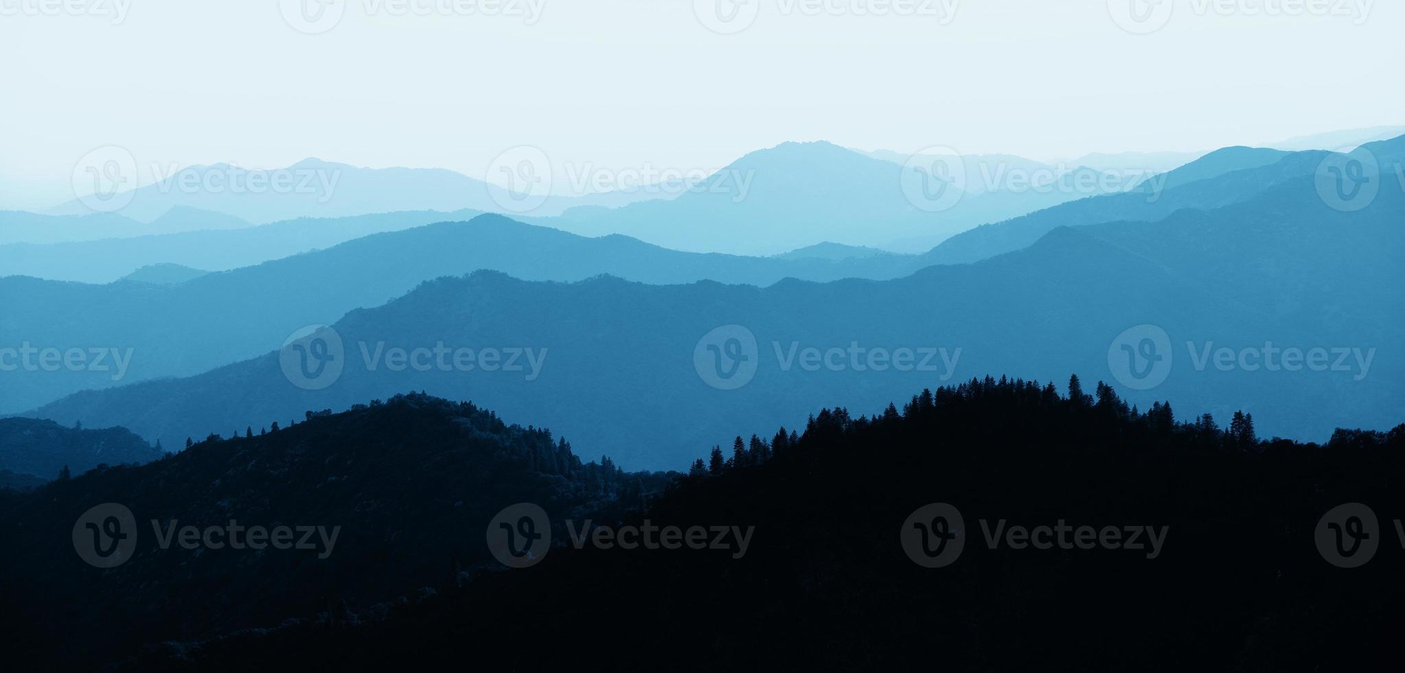 Mountain ridge abstract photo