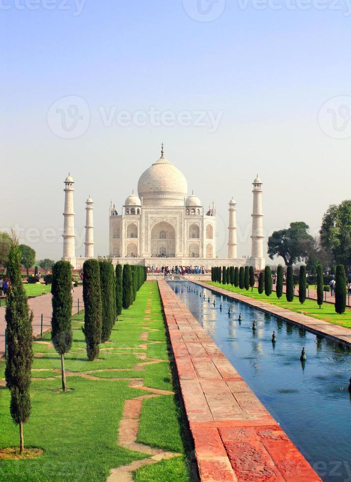 Taj Mahal mausoleum, Agra, India photo