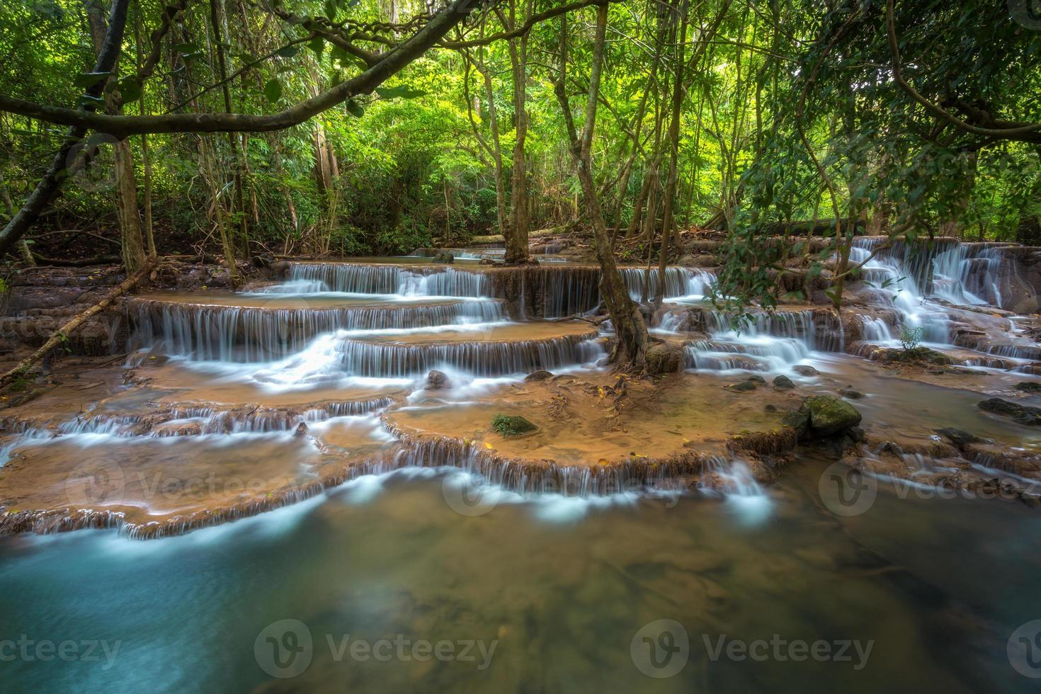 waterfall in thailand photo