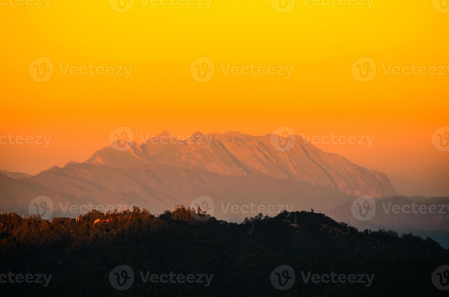 Sunrise at Mount Luang Chiang Dao photo
