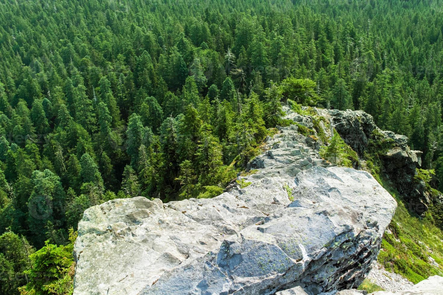 Jagged Narrow Rocky Ridge photo