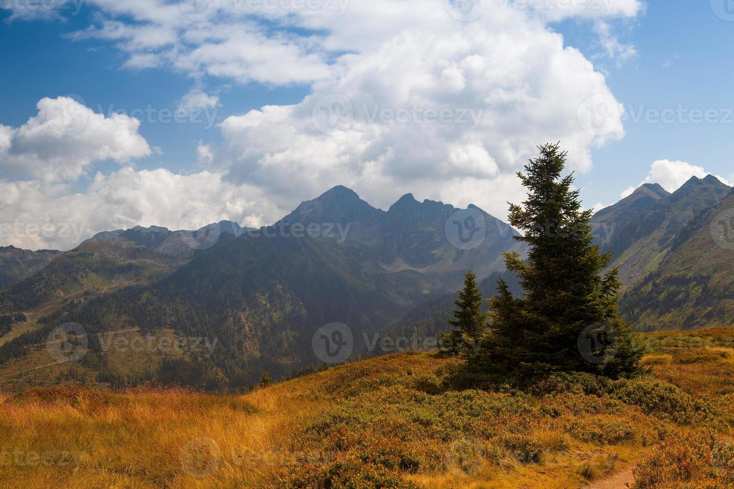 Stunning landscape in the Schladming photo