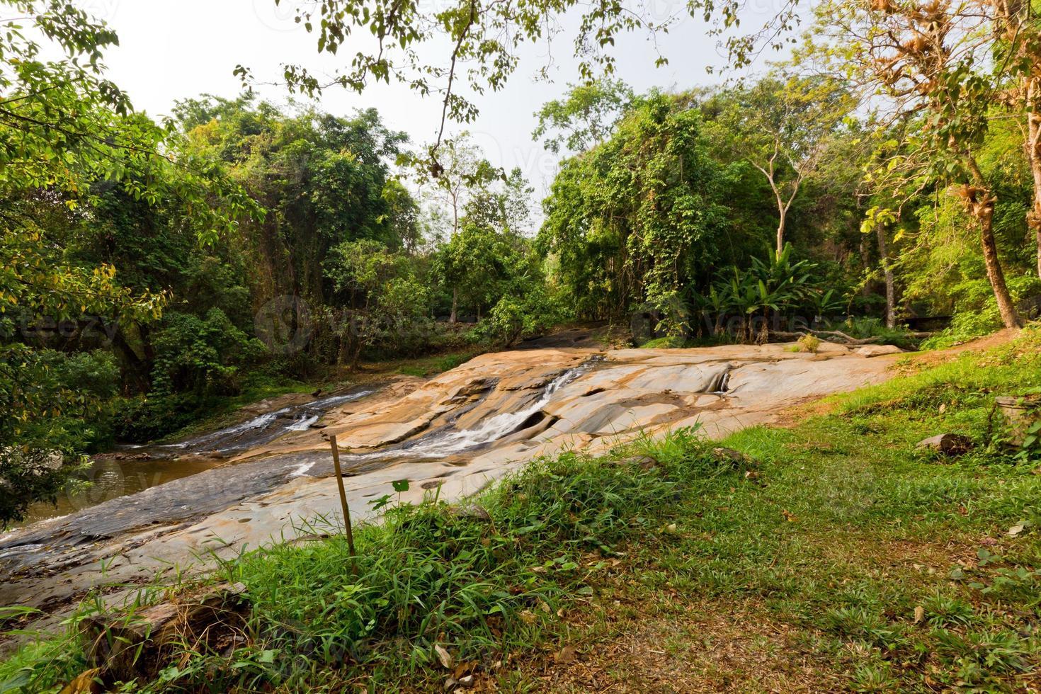 Thailand Natural Waterfall photo