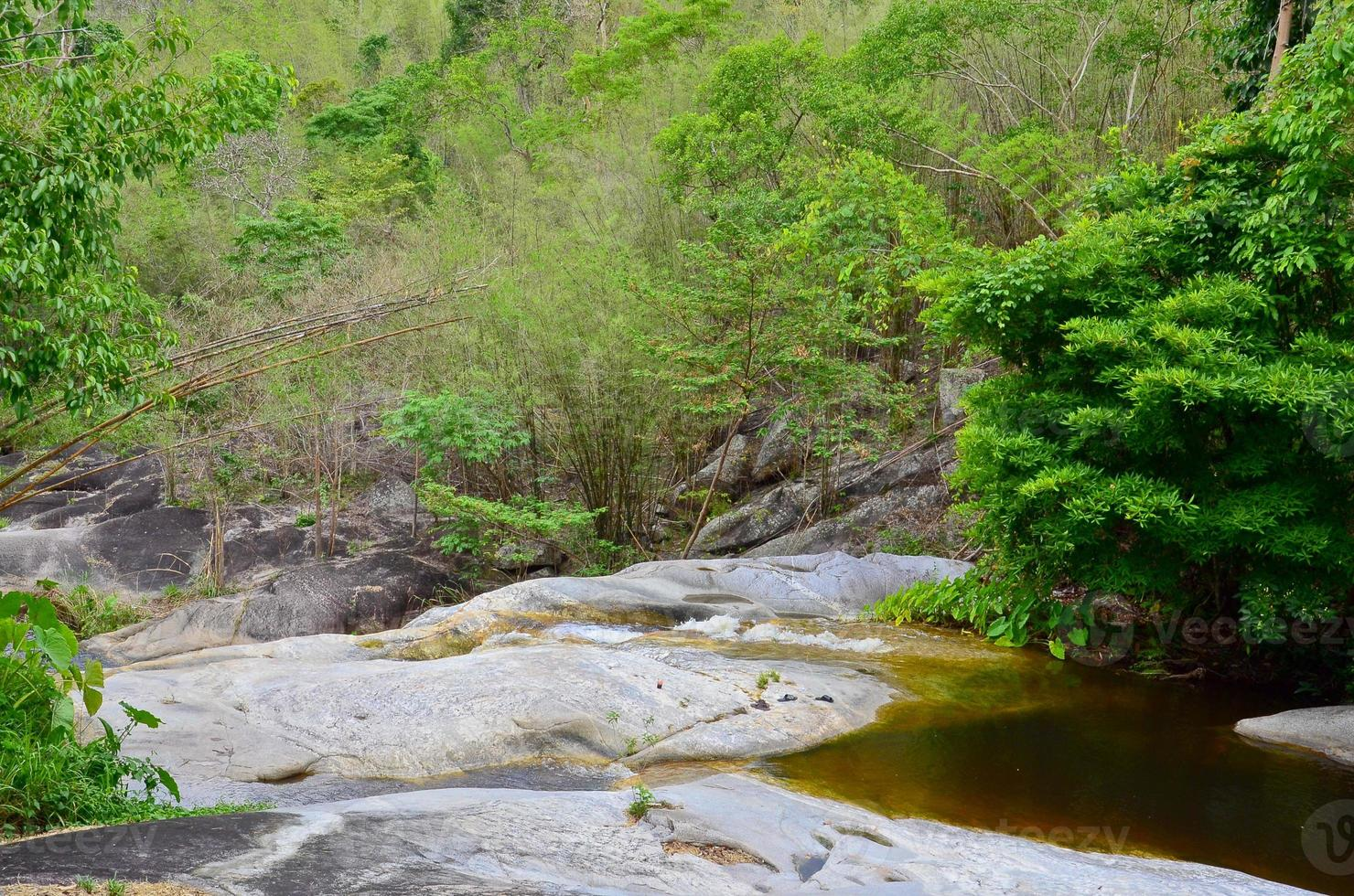 cascada de kao chon, suan phueng, ratchaburi, tailandia foto