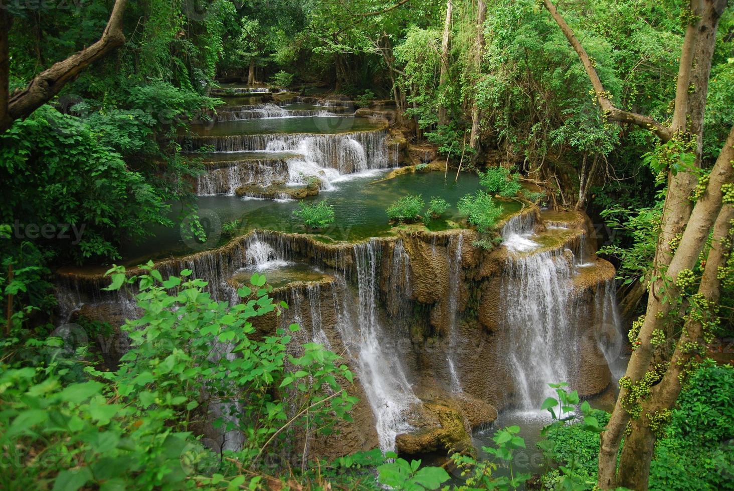 cascata huaimaekhamin foto