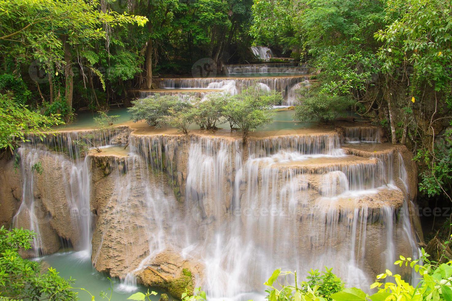 cascada de huaymaekamin foto