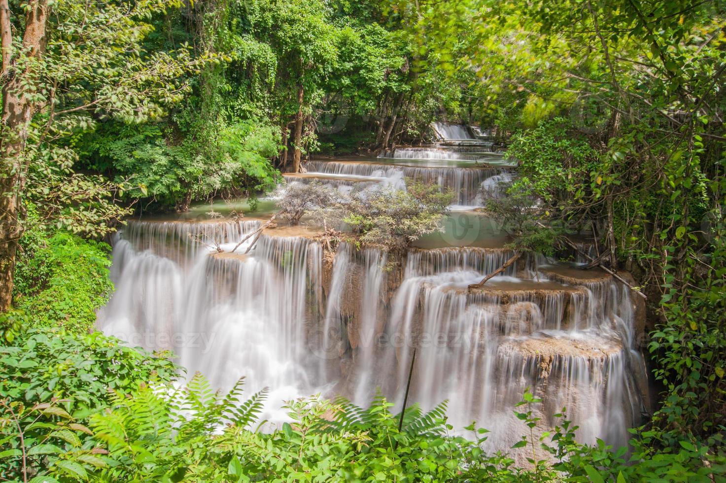 cascada de huay mae kamin, foto
