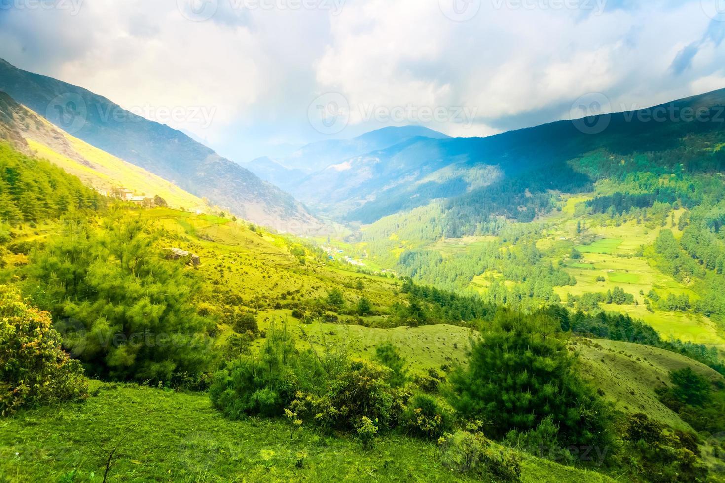 Himalayan mountains photo